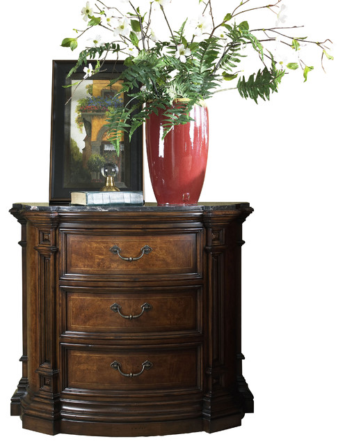 Viniterra Bedside Commode mediterranean-nightstands-and-bedside-tables