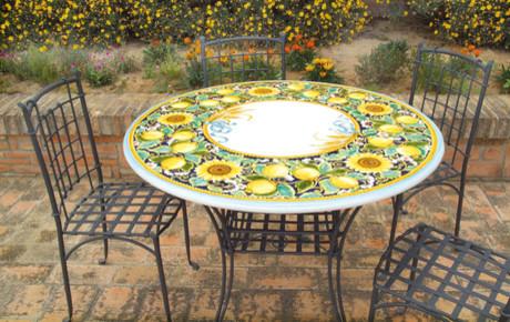 CERAMIC LAVA ROCK TABLES CATALOG traditional
