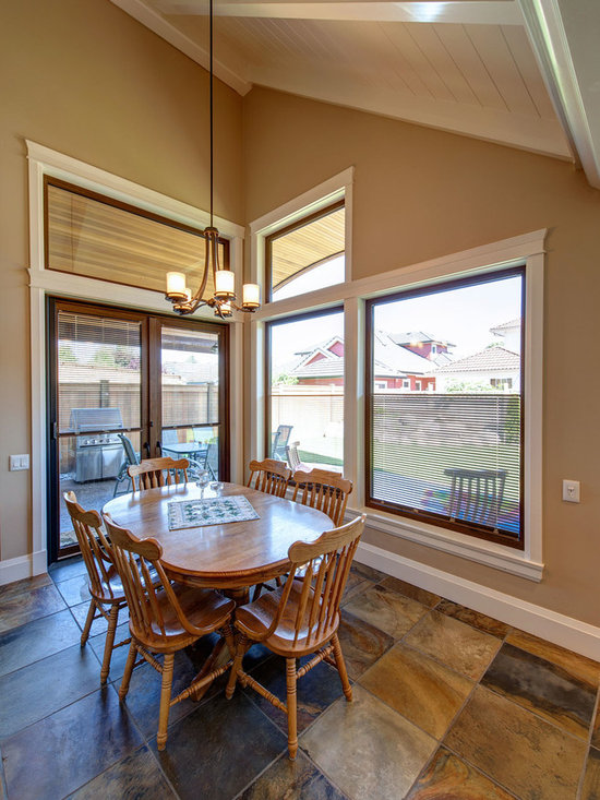 Dining Rooms | Brighten Your Meal - Private Residence in Ladner, BC | Innotech Windows Canada, Inc.