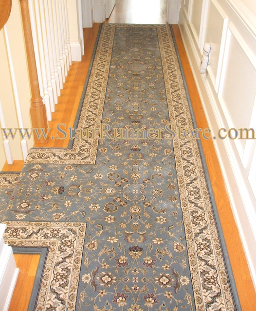 Custom Fabrication T Landing Hallway Traditional