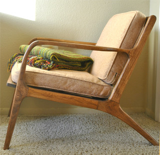 Danish Mid Century Teak Lounge Chair - Midcentury - Armchairs And Accent Chairs - other metro ...