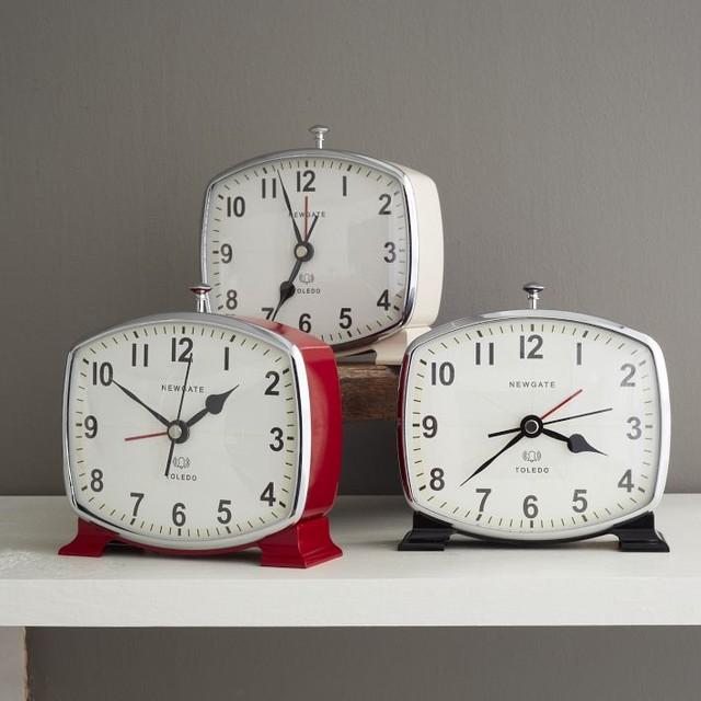 Traditional Alarm Clocks by West Elm