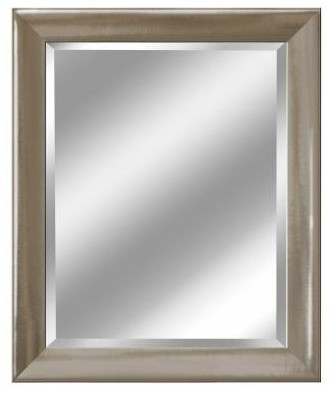 Brushed Nickel Bathroom Mirror on Products   Bath Products   Bath And Spa Accessories   Bathroom Mirrors