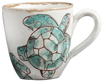 Sea Turtle Mug tropical-dinnerware