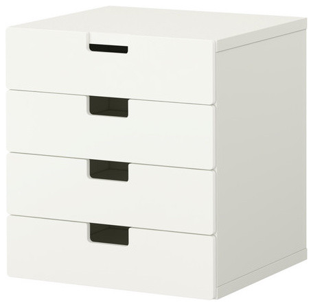 STUVA Storage combination with drawers modern kids dressers