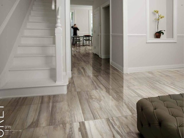 Kauri Petrified Wood Look Porcelain Tile Modern Wall