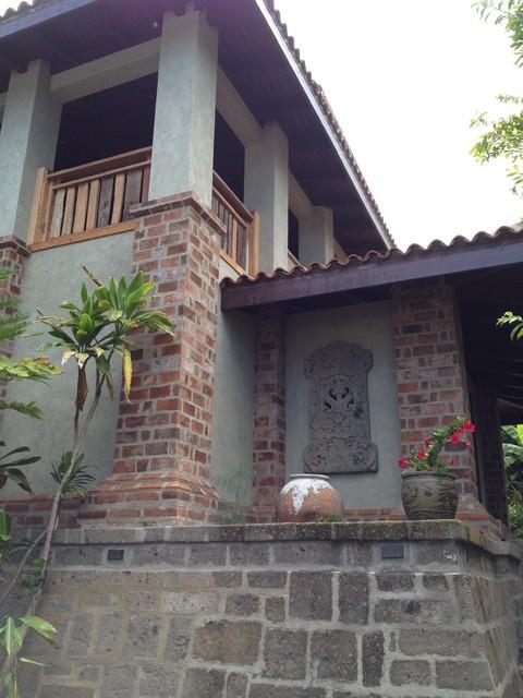 Private home, Holualoa tropical