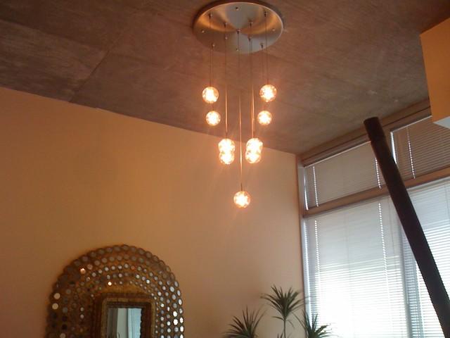 lighting high ceiling modern atlanta