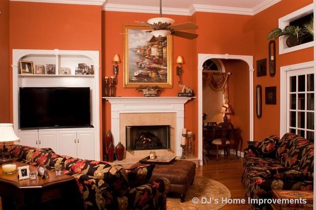 Interior Design Services & Custom Furniture traditional-family-room