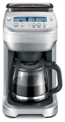 Modern Glass Coffee Maker : Breville You Brew Automatic Grind & Brew 12-Cups Glass Coffee Maker - Contemporary - Coffee And ...