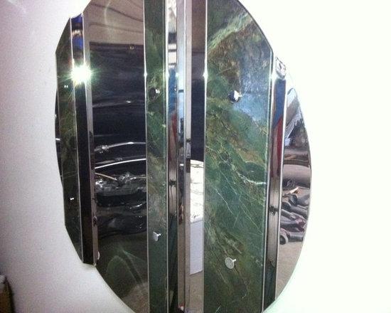 R. Hulsebus - Green Stone, Folded Sculpture, 2012, pic 2 -