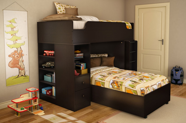 Logik Twin Loft Kids Bed Modern Kids Beds New York By Dexter