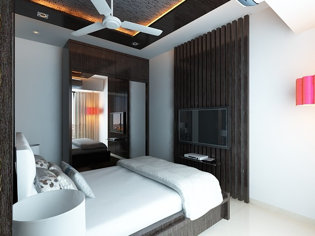 High End Residential Interior Design Project at Borivali contemporary ...
