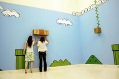 """Super Mario Bros. """"Landscape"""" Art Installation   Geekologie"""