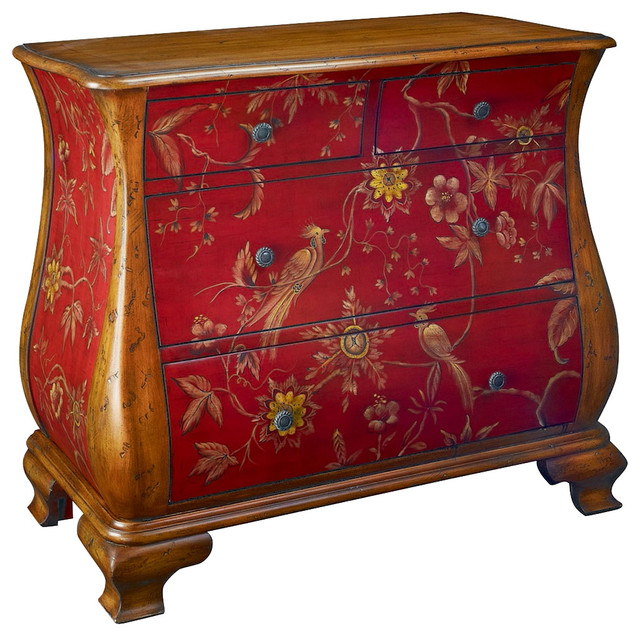 Hammary T71468-00 Hidden Treasures Accent Chest With Hand-Painted