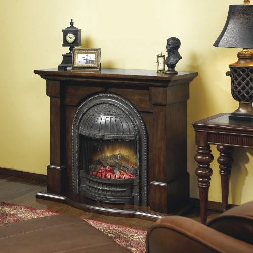 Dimplex Brockton Electric Fireplace Traditional Indoor Fireplaces By Hayneedle