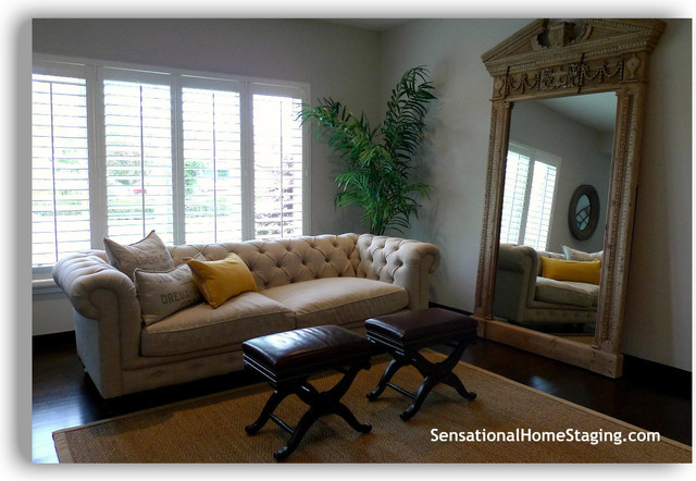 2012 Home Staging ~ Danville traditional-living-room