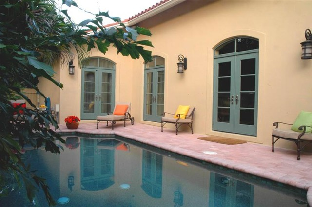 Defining Italian Mediterranean Influence in a Formerly Non Specific Florida Home