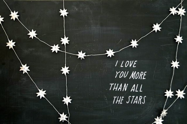All the Stars Tiding - Small modern-decals
