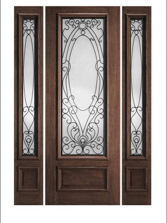 IR Iron Insulated Entry Doors Model  # 735 -