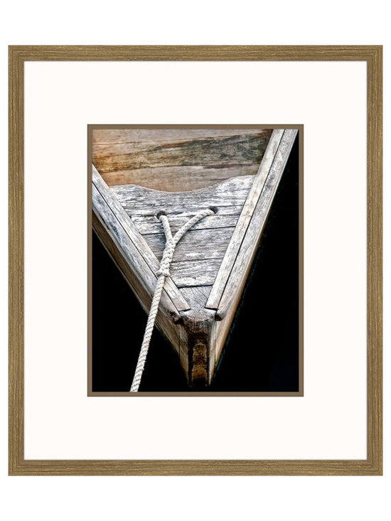 Big Fish Wooden Rowboats III Wall Art