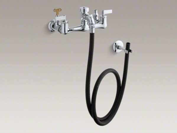 ... faucet with loose-key stops, rubber hose contemporary-bathroom-faucets