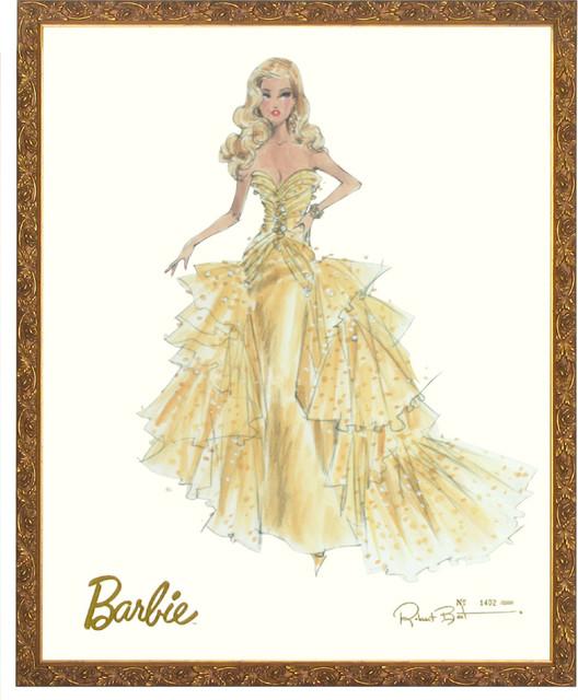 50th Anniversary Limited Edition Barbie Print modern-artwork
