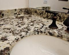 Ice Brown Granite modern-kitchen-countertops