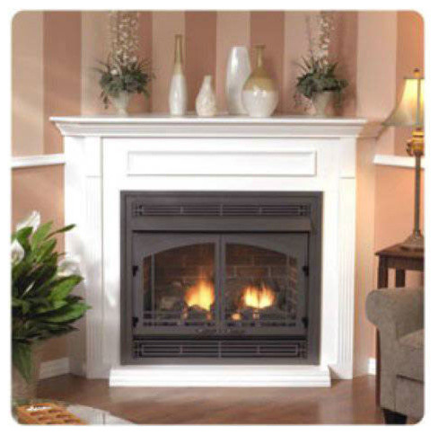 Premium 36 Vent Free Fireplace Vfp36bp31lp Liquid Propane Modern Fireplaces By Shop Chimney