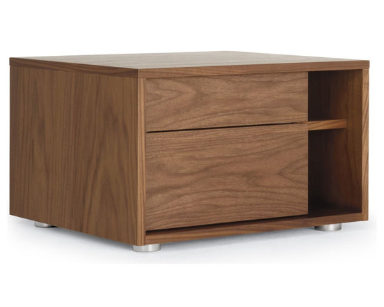 Parallel Bedside Table -
