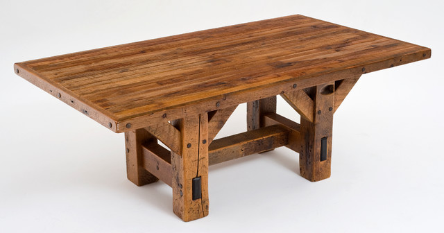 Timber Frame Rustic Dining Table Tables Other