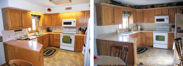 Before & After Photo's