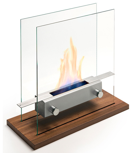 Large apollo tabletop fireplace by carl mertens for Large modern fireplaces