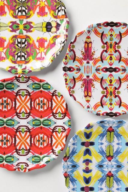 Kaleidobug Melamine Plate eclectic-plates