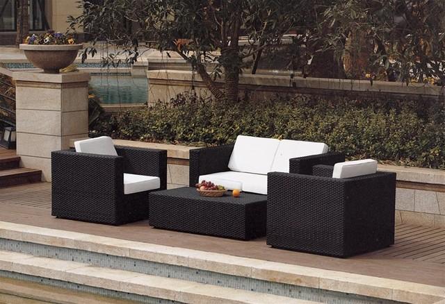 Carlo Outdoor Sofa Set: modern-outdoor-sofas