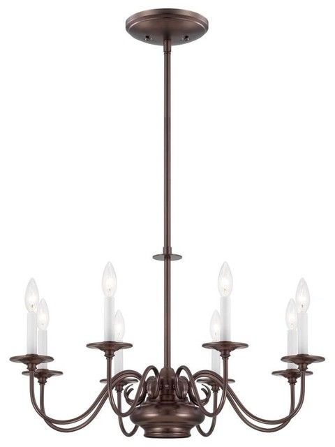 Savoy House-1-5451-8-28-Bancroft - Nine Light Chandelier traditional-chandeliers