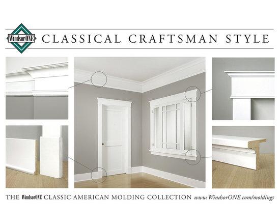 WindsorONE Classical Craftsman Moldings -