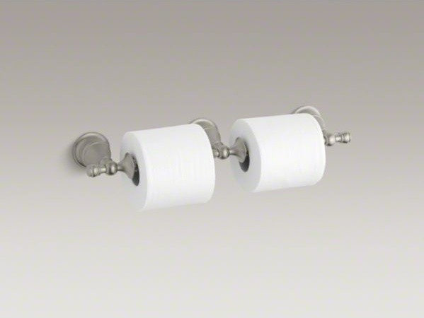 KOHLER Revival(R) double toilet tissue holder contemporary-home-decor