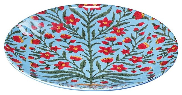 Kerala Melamine Appetizer Plate asian dinnerware