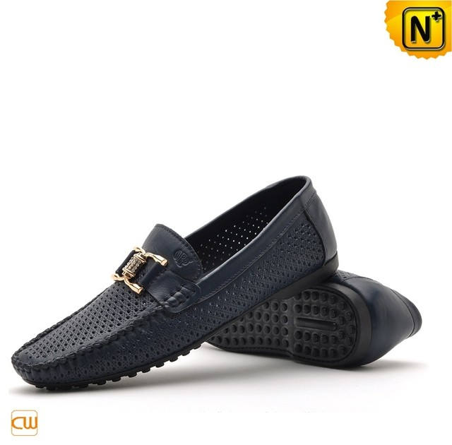 Mens Tods Shoes Breathable Leather Loafers Shoes CW712530 - cwmalls.com modern-home-decor