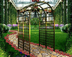 usa newyork architectural custom made  iron  manufacturing  fencing