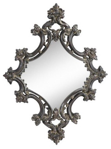 Cooper Classics Gibson Wall Mirror - 25W x 26.25H in. traditional-mirrors