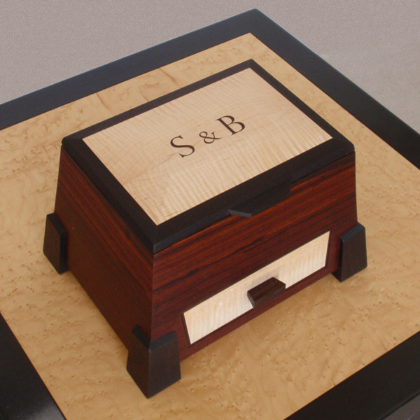 Personalized Rosewood Jewelry Boxes eclectic-jewelry-boxes-and-organizers
