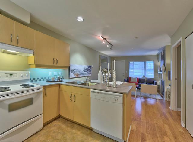 The Railyards contemporary-kitchen