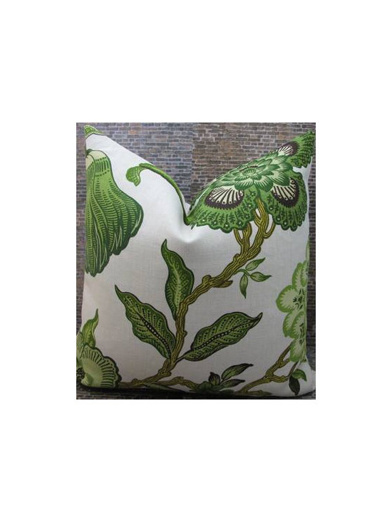 Celerie Kemble F. Schumacher Fabric Pillow Cover by 3BMod Living -