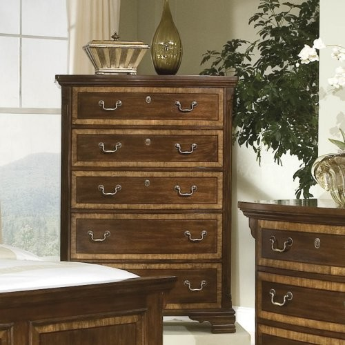 Wellington Manor 5-Drawer Chest traditional-dressers-chests-and-bedroom-armoires