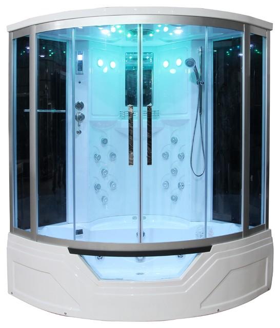 Eagle Bath WS-703 Steam Shower Enclosure W/ Whirlpool