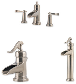 Ashfield 4-inch Centerset Trough Faucet contemporary-bathroom-faucets
