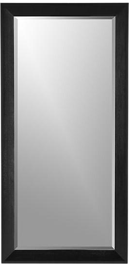 Pavillion Black Floor Mirror contemporary-mirrors