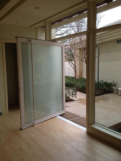 Glass pivot doors for All glass front door